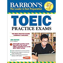 Barron's Toeic Practice Exams with MP3 CD, 3rd Edition (Book & MP3 CD)