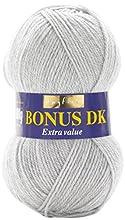 Hayfield - Bonus Dk per Lavoro a Maglia – 100 g, Filato, Light Grey Mix, 19 x 9 x 9 cm