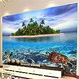 Lvabc Hd Unterwasserwelt Meeresorganismus Foto Wandbild Tapete Wohnzimmer Aquarium Innendekor Wandmalerei3D-120X100Cm