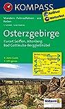 Osterzgebirge: Wanderkarte mit Aktiv Guide, Rad- und Reitwegen. GPS-genau. 1:50000: Wandelkaart 1:50 000 (KOMPASS-Wanderkarten, Band 808)