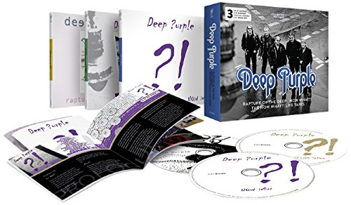 Deep Purple: Rapture Of The Deep/Now What?!/The Now What?! Live Tapes - Collector's Package (3CD) (Audio CD)