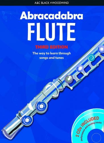 Abracadabra Woodwind,Abracadabra - Abracadabra Flute (Pupils' Book + 2 CDs): The way to learn through songs and tunes by Malcolm Pollock (2008-08-18)