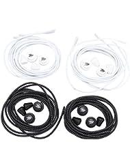 flowign elastische Schnürsenkel mit Schnellverschluss 4 Paar L 120cm D 3mm Laufen Triathlon Wandern Sport Freizeit
