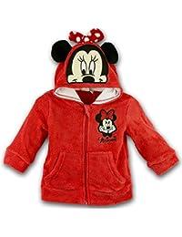 Disney Baby-Mädchen Weste Minnie Mouse Head Hood