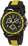 Sector Men's Watch R3271697027 In Collection Expander 90 with Chrono, Black Dial and Yellow Black Strap