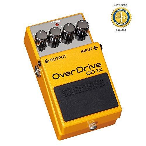 BOSS OD-1X efectos de guitarra Pedal Overdrive