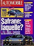 AUTOMOBILE MAGAZINE (L') [No 554] du 01/08/1992 - 1995 - LES NOUVELLES XM - BMW 5 - MERCEDES 300 - VOLVO 980 - LES PLUS BELLES REPLIQUES A L'ESSAI COBRA - STRATOS - LOTUS SUPER 7 - JAGUAR D - J'AI CONDUIT L'ETONNANTE FORD GHIA FOCUS - SAFRANE LAQUELLE - GOLF VR6 - 405 STDT - JAGUAR XJS 4 L CABRIOLET - R19 FACE A VW VENTO ET OPEL ASTRA - MAZDA RX7...
