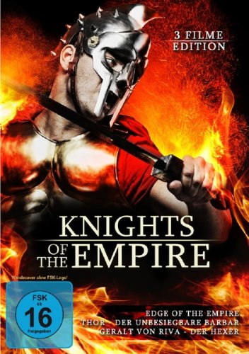 Knights of the Empire (3 Filme Edition: Edge of the Empire / Thor - Der unbesiegbare Barbar & Geralt von Riva) (Thor-box-set Dvd)