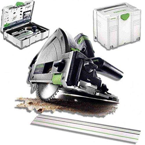 Preisvergleich Produktbild Festool Tauchsäge TS 55 REBQ Plus FS 561580 Führungsschiene Zubehör Set FS SYS/2
