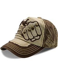 Gorra de béisbol de algodón Unisex Papá hat - UPhitnis elegante ajustable  de gorras con bordados ef75b606a20