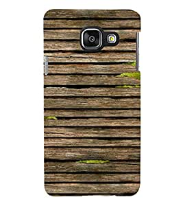 PrintVisa Wet Wooden Pattern 3D Hard Polycarbonate Designer Back Case Cover for Samsung Galaxy A5 A510 2016 Edition