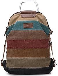 La Desire Mujeres Vintage Mochila Escolar Daypacks damas mochila casual bolso bolsos mochila Para el trabajo