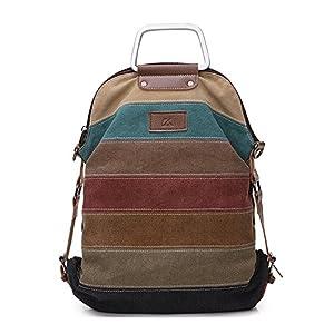 511aFfsFj5L. SS300  - La Desire Mujeres Vintage Mochila Escolar Daypacks damas mochila casual bolso bolsos mochila Para el trabajo escolar…