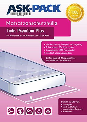 Zoom IMG-1 custodia materasso premium twin per