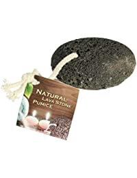 Natural Pumice Stone on a Cord - Ideal Pampering Gift - Mans / Mens Perfect Ideal Christmas Present / Gift / Stocking Filler Ideal Fun & Novelty Gift