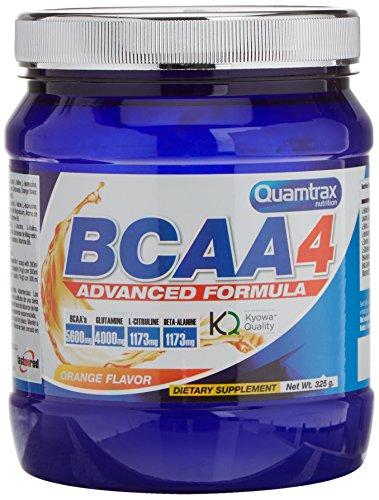 Quamtrax Nutrition Bcaa 4 de Sabor Naranja - 325 gr