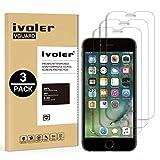 ivoler [3 Pack] Pellicola Vetro Temperato per iPhone 8/7 / 6S / 6 [Garanzia a Vita], Pellicola Protettiva, Protezione per Schermo