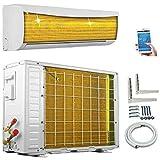 A++/A++ ECO Smart Inverter WiFi WLAN Golden-Fin 12000 BTU 3,5 kW Split Klimaanlage mit Wärmepumpe INVERTER Klimagerät und Heizung SmartHome