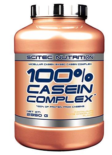 Scitec Nutrition Casein Complex proteína chocolate blanco-melón 2350 g
