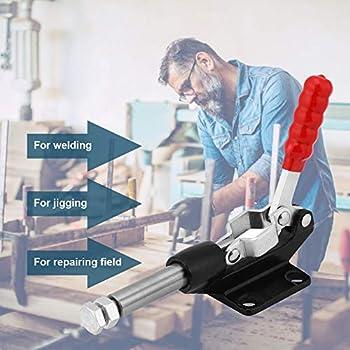 Armadio Morsetti a ginocchiera chiavistello 4001 Morsetto Chiusura Metallo Fissare Porta Leva per Cooler Casse 100 kg//220lbs Tenere Capacit/à Latch pulsante Toggle latch 6pcs Toggle morsetto