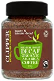 Clipper Fairtrade Medium Roast Decaffeinated Organic Arabica Coffee 100 g (Pack of 2)