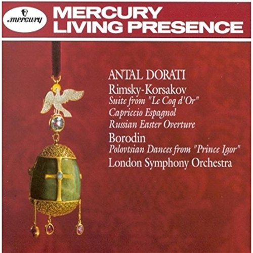 Suite From Le Coq D'Or;Capriccio Espagnol;Russian Easter Overture;Polovtsians Dances