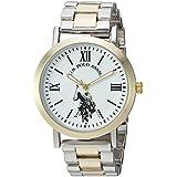 U.S. Polo Assn. Women's Quartz Metal and Alloy Casual Watch, Color:Two Tone (Model: USC40261AZ)