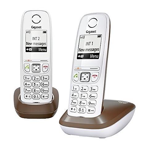 Gigaset AS405 Duo Téléphone sans Fil DECT/GAP