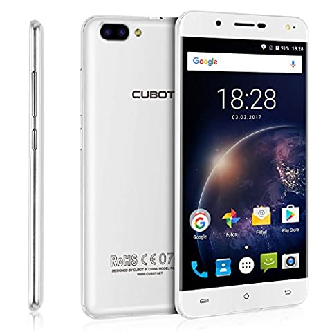 Cubot Rainbow 2 (2017) Andriod 7.0 Smartphone 5 Zoll (12,7