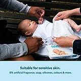 WaterWipes Baby Wipes Sensitive Newborn Skin, 240 Wipes (4 Packs of 60 Wipes)