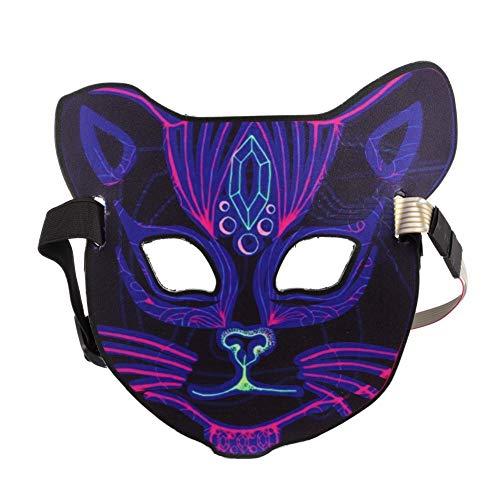 htmaske für Erwachsene, Maske für Kostümparty, Weihnachten, Cosplay, Grimassenfest, Party ()