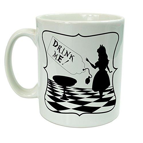 Alice nel paese delle meraviglie, Drink Me-Tazza in ceramica, 10 cl, confezione regalo