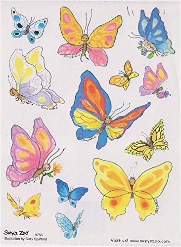 Butterfly Sticker sheet by Suzy's Zoo ()