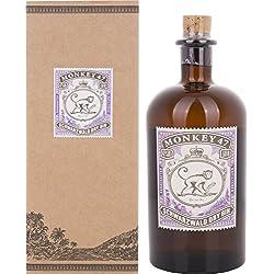Monkey 47 schwarzwald Dry Gin mit Geschenkverpackung (1 x 0.5 l) Monkey 47 Schwarzwald Dry Gin
