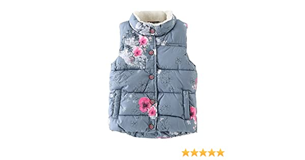 ESHOO Kids Baby Boys Girls Winter Keep Warm Cotton Butterfly Vest Coat Down Waistcoat