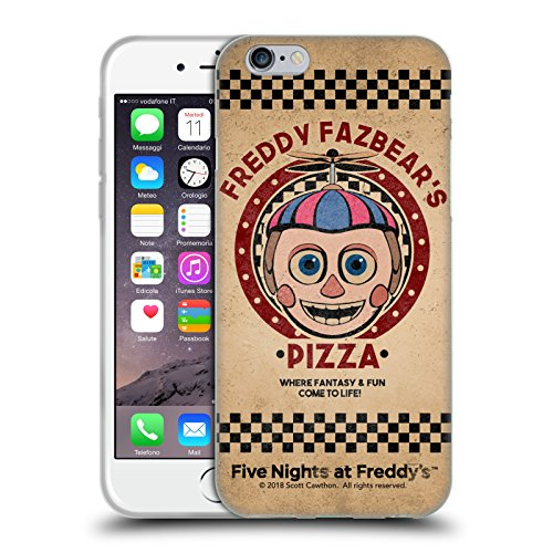 Official Five Nights At Freddy's Balloon Boy Freddy Fazbear's Pizza Soft Gel Case for iPhone 6 / iPhone 6s