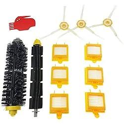 Tomkity 700 Series Kit de Remplacement pour iRobot Roomba 700 760 765 770 772 775 776 776 780 782 785 786 Kit d'entretien Accessoires