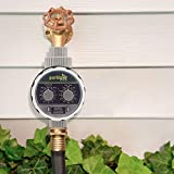 Parkland® Automatic Electronic Water Timer Garden Hose Irrigation System Controller 2 Dial