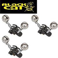 Black Cat Hells Bells - 3 Glöckchen, Wallerglocke, Wallerglöckchen, Bissanzeiger Zum Angeln auf Wels
