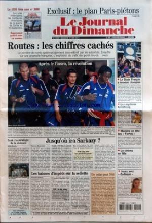 JOURNAL DU DIMANCHE (LE) [No 3000] du 27/06/2004 -...