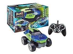 Revell Control- RC Stunt Car NEPTURN Juguetes a Control Remoto, Color Verde, Azul (24648)