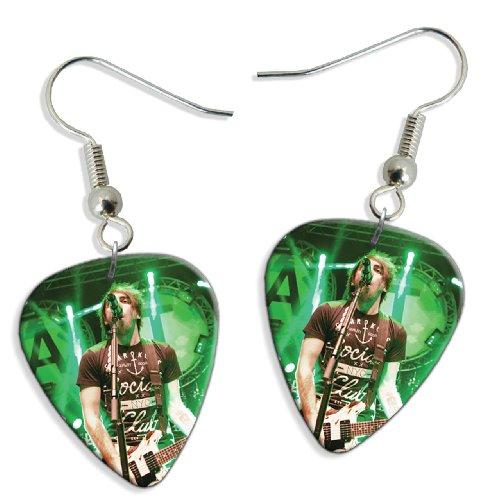 all-time-low-alex-gaskarth-dw-2-x-live-performance-guitarra-pick-earrings-pendientes