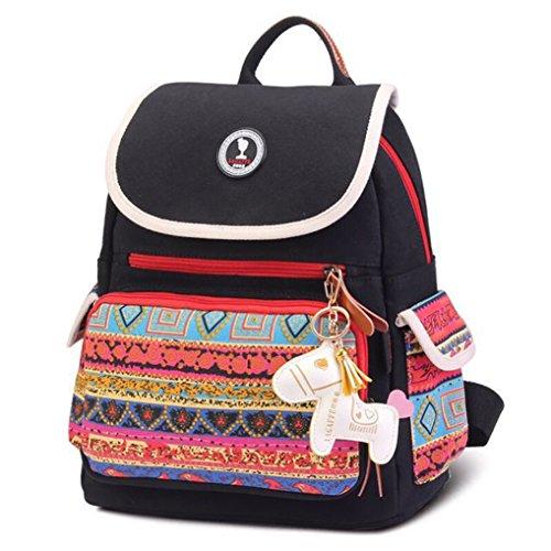 belle-black-multi-function-stylish-mummy-bag-shoulder-messenger-bag-backpack-travel-canvas-rucksack-