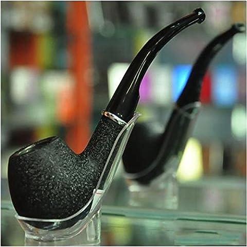 SunHug (TM) Hot Huka-Weinlese-Durable Stein Stil Zigarette Zigarre Rauchen Tabak-Rohr-Schwarz 02 # 52817 - Durevole Tabacco Da Pipa