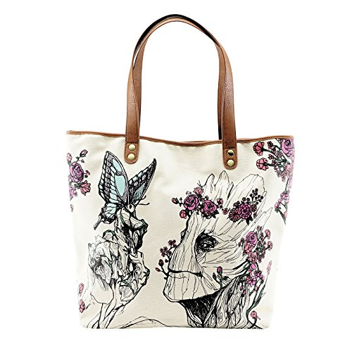 Guardians of the Galaxy Shopper Tasche Floral Groot Loungefly Marvel 37x47x13cm (Nova Mit Groot)