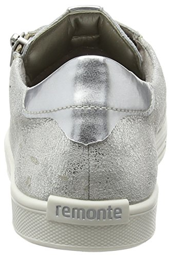 Remonte D0001 Damen Sneakers Silber (silver/argento / 90)
