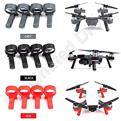 Fascinated Drone Landing Gear Leg Height Extender Kit Landing Stabilizers Set Gimbal Camera Protector for DJI SPARK Drone