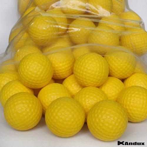 Andux 36 Golf PU-Schaum Übungsbälle Gelb PU