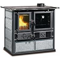 La Nordica Cocina a leña Rosa DX piedra natural Potencia térmica nominal 6.5 KW 185 M3