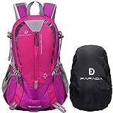 Fafada 25L Impermeabile Zaini da Escursionismo Zaino di Campeggio Viaggi Hiking Trekking Camping Backpack Rosa
